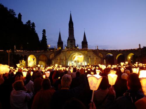 Pellegrinaggio Lourdes in Aereo